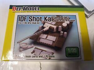 Def Model 1:35 IDF Shot Kal Gimel 1982 detail up & storage set for AFV Centurion