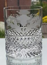 Thistle Design Large Old Fashioned 12 oz Whisky Glass (Quality)