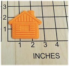 Log Cabin Fondant Cookie Cutter and Stamp #1374