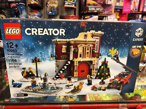 LEGO 10263 - Caserma dei Pompieri del villaggio invernale
