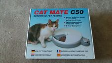 CAT MATE C50 AUTOMATIC PET FEEDER, with Ice Packs
