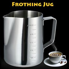 Milk Frothing Pitcher Art Jug Mug Creamer Latte Coffee Craft Cup Stainless Steel
