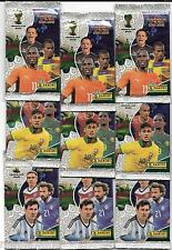 LOTE 9 Sobres Pack ADRENALYN XL MUNDIAL BRASIL 2014 PANINI Sealed Packets