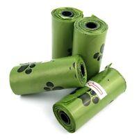 1/5 Rollen Biologisch abbaubare Kotbeutel Kompostierbare Hundeabfallsäcke++