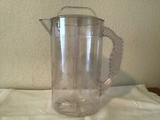 Pampered Chef  Pitcher Quick Stir  2 Qt Clear -never used