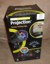 LED Lightshow Projection Halloween Stake Light  Orange/Green  Brand New in Box