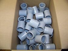"Queen City Plastics 1"" Schedule 40 Coupling 50 each P/N 2101008"