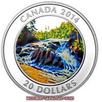 CANADA 2014 $20 FINE SILVER COIN - RIVER RAPIDS