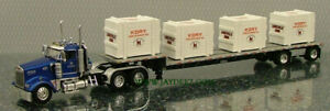 DCP31808 W900 DAYCAB, STEPDECK  AND CRATE LOAD 2008 KORY FARM EQUIP.  NOS NIB!!!