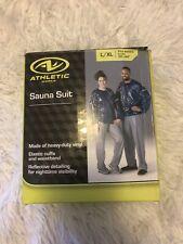 """Athletic Works Adult Sauna Suit L/XL Fits Waist Sizes 36"""" - 44"""" New"""