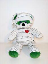 "Build A Bear Halloween Mummy Plush BAB Workshop Teddy Bear Rare Retired 16"""