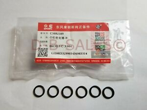 DCEC O Ring Seal Injector Tube Connector Crossover Cummins 24V Fuel 98-02  VP44