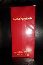 DOLCE & GABBANA RED 50ml EDT VERY RARE! BRAND NEW SEALED GENUINE+++++++++++
