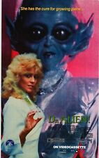 MOVIE POSTER~Dr. Alien 1988 23x37 Olivia Barash Sci-Fi Classic Billy Jacoby Rare