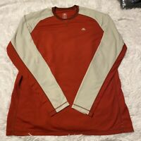 Nike ACG All Climate Gear Mens Size XL Red Long Sleeve Base Layer Shirt EUC