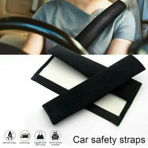 Pair Soft Safety Shoulder Covers Car Seat Belt Pads Cushion Comfortable