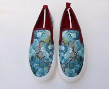 GUCCI Women GG Supreme Floral Blooms Slip-On Dublin Sneakers EU 39 - US 9