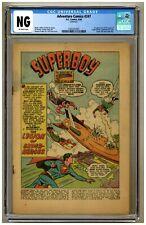 Adventure Comics 247 (CGC NG) COVERLESS; OW; 1st Legion of Super-Heroes (j#4308)