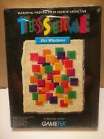 "Tesserae BIG Box RETRO computer software video game 1993 IBM PC 3.5"" Windows"