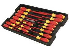 Wiha Tools 32095 Insulated Screwdriver Set,Slotted/Phillips,19 Pcs
