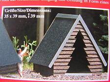 Epoche V (ab 1990) Modellbahn-Gebäude,-Tunnel & -Bücken der Spur H0 aus Holz
