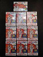 Panini 2020-21 NBA Hoops Blaster Box lot of 10. New and sealed
