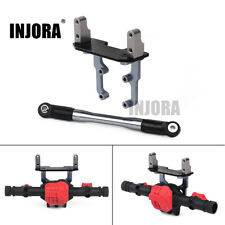 Axle Servo Base Stand w/ Steering Link Rod for 1/10 RC Axial SCX10 90046 AR44