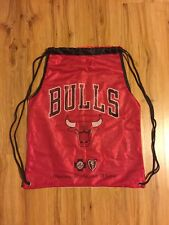 Chicago Bulls, String Backpack, Bag Sling Pack. Jersey Look, Game Giveaway.