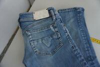 Diesel Matic Damen Jeans stretch Hose 27/32 W27 L32 stonewashed used blau ad22