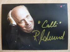 -aa- Reiner Calmund - VOX Autogrammkarte
