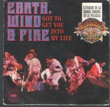 """EARTH, WIND & FIRE 7""""PS Spain 1978 Get to get you into my life ( THE BEATLES )"""