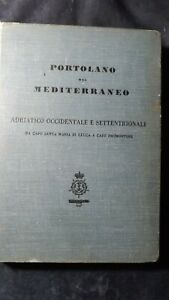 Portolano del Mediterraneo Adriatico occidentale e settentrionale 1939