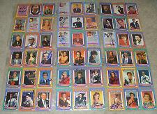 (250) 1991 Hollywood Walk of Fame Card Set Signed Autographed Complete Set RARE