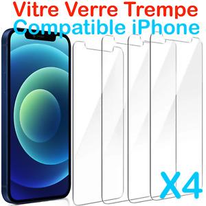 vitre verre trempe film protection écran iPhone 11/XR/XS/8/7/6S/5S/5C/5/11 Pro