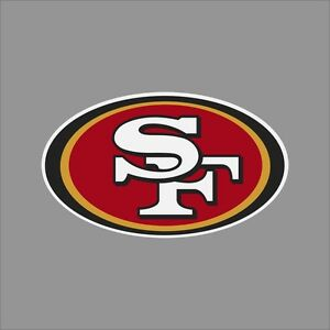 San Francisco 49ers NFL Team Logo Vinyl Decal Sticker Car Window Wall Cornhole