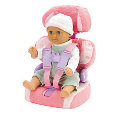 Casdon Dolls Car Booster Seat Baby Huggles Chair Girls House Role Travel Doll