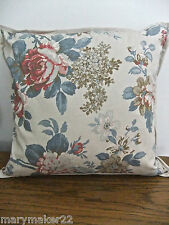NIP-$95 RALPH LAUREN LAKE HOUSE FLORAL DECORATIVE BED PILLOW w GOOSE FEATHERS