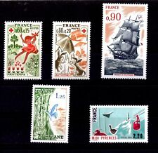 LOT DE TIMBRES N° 1860/1861/1862/1865A/1866 NEUF**
