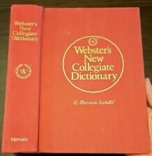 Webster's New Collegiate Dictionary (Hardcover)