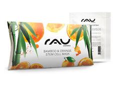Bamboo und Orange Stem Cell Mask feuchtigkeitsspendende Vliesmaske RAU Cosmetics