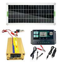 200 Watt 200 W Solarpanel Kit 12 Volt bis 220V Batterieladegerät RV
