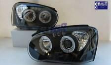 JDM Black LED Angle Eyes Projector Headlights for 03-05 SUBARU IMPREZA WRX RX ST