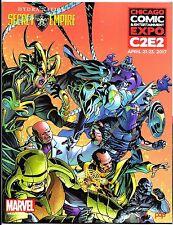 C2E2 2017 Convention Exclusive Program - ReedPOP Event - Secret Empire Cover!