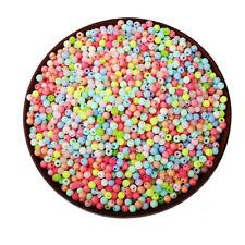 Perles en Acrylique 4mm Mixte
