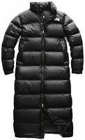 NWT The North Face Women's Nuptse Duster Coat Down Jacket 700 Black Size L