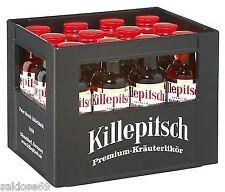 12 Fläschen Düsseldorfer Killepitsch im Minikasten Sammelbox 42% a 0,02L