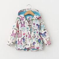 US Canis Children Girls Boy Baby Kids Coat Jacket Hoodie Windbreaker  Outerwear