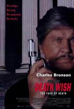 DEATH WISH 5: THE FACE OF DEATH Movie POSTER 27x40 Charles Bronson Lesley-Anne