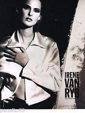PUBLICITE ADVERTISING 065  1995  IRENE VAN RYB   haute couture 2