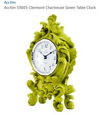 acctim chartreuse baroque style mantel clock 33605